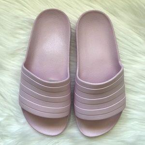 Women's Pale Pink Adidas Pool Slides NWOT